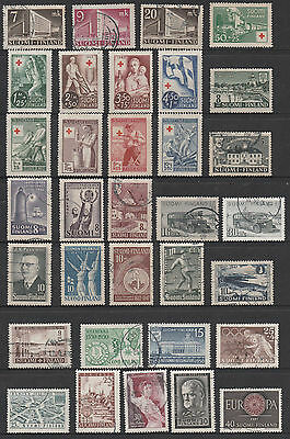 Finland - Early Selection - Mint And Used - 33 Stamps