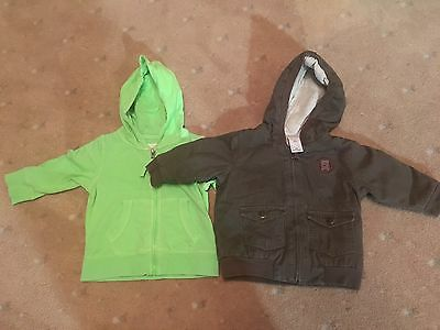 BABY BOY CLOTHES - Size 00- Jackets -pumpkin Patch & Target