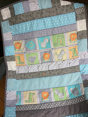 NEW Handmade Baby Snuggle  Blanket/Quilt for Pram, Car, Kick mat, unisex Gift