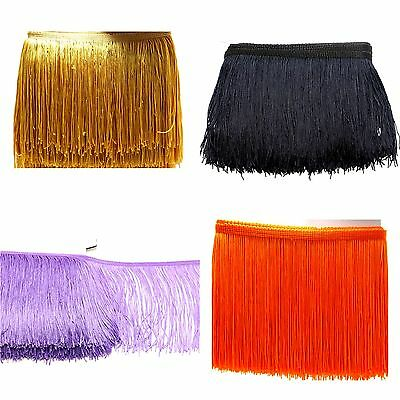 15cm fringing tassel costume dress upholstery fringe trim ONE YARD