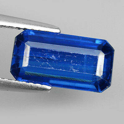 4.26 Ct Exclusive 100% Natural Royal Blue Kyanite Octagon Cut Loose Gemstones