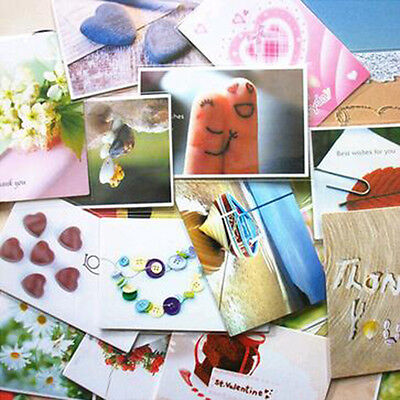 50Pcs/Lot Korea Style Mini Cards Postcards Greeting/Thank you/Message Cards