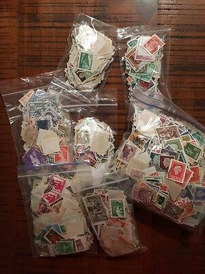 Bulk Lot World Postage Stamps 1000+