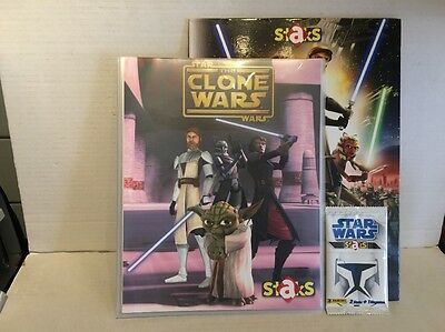 Star Wars The Clone Wars Panini Staks, Brand New Unused, Immaculate Condition.