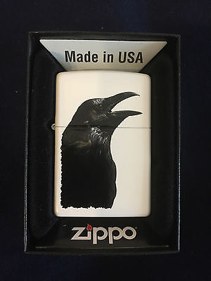 ZIPPO Lighter / Feuerzeug, Modell: Raven / Crow, Made in USA