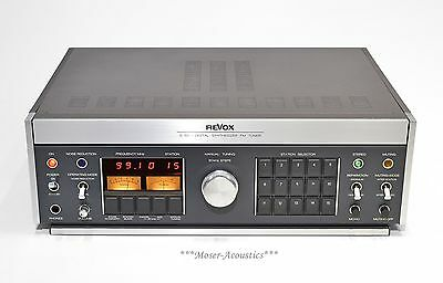 Revox B760 High End Digital Synthesizer FM Tuner - *Revised*