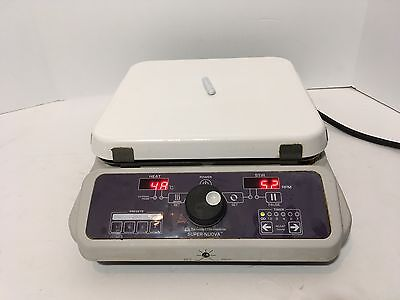 Barnstead Thermolyne Super Nuova Large Hot Plate/Stirrer Used Tested Works Great