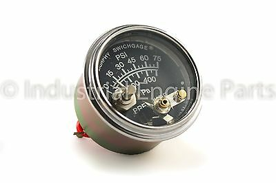 Murphy 20P7-75 - Oil Pressure Gauge, 0-75 PSI with Lockout
