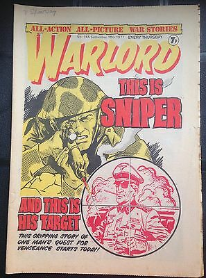 Warlord Comic #155 September 1977 DC Thompson