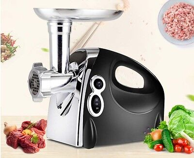 New Commercial Electric Stainless Steel Meat Grinder Multifunctional Mincer *