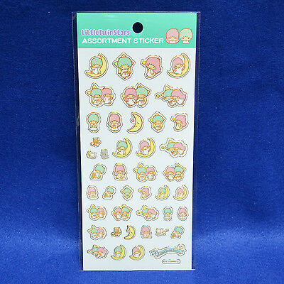 Little Twin Stars Golden Bordering Sticker No.2 Licensed SANRIO for sale in JP