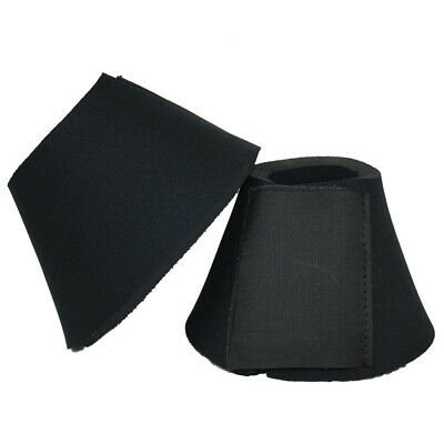 Double Velcro Thick Neoprene Over Reach Boots Cob Full Extra Full Exercise Field