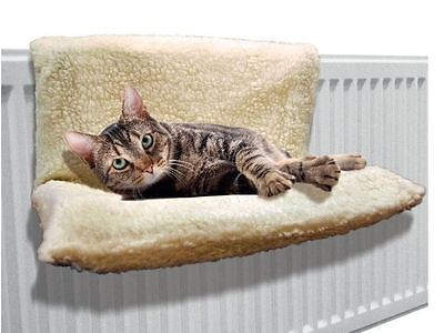 New Cat Dog Radiator Bed Warm Fleece Beds Basket Cradle Hammock Animal Puppy Pet