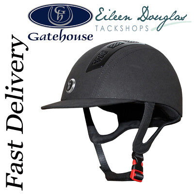 Gatehouse Chelsea Air Flow Pro Riding Hat Matt or Suede Finished iding Helmet