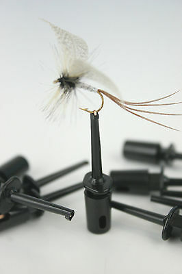X10,20,50, Fly Tyers Clips/Holders For Dressing & Displaying Fishing Flies