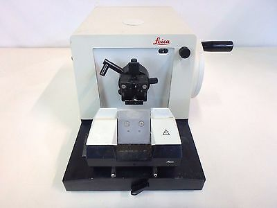 Leica Jung RM2025 Microtome Histology Pathology Tissue Preparation