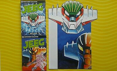 Super Robot Collection Volume 1-2 Serie Completa Jeeg + Poster + Maschera