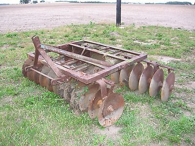 Burch Plow Works Indiana 3 POINT HITCH 6 foot DISC