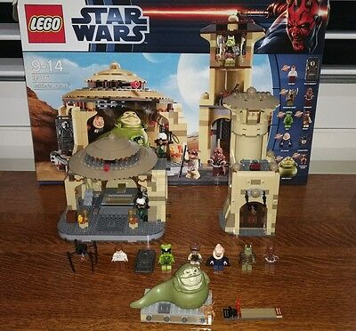 Lego Star Wars Jabba's Palace 9516 used 100% complete
