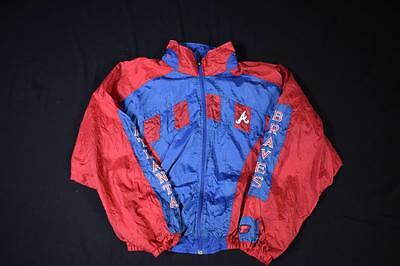 Large Vintage Atlanta Braves Jacket