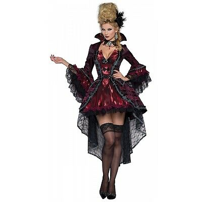 Vampire Costume Adult Victorian Masquerade Halloween Fancy Dress