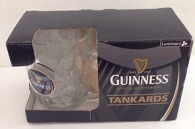 NEW Set of 2 Guiness Dimpled 20 oz. Beer Glass by Luminarc