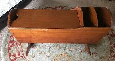 Vintage Antique Baby Cradle Bed Rare Amish Country Rustic