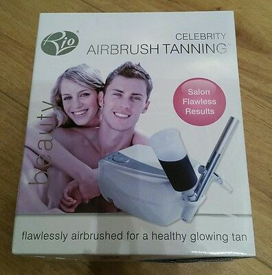 RIO CELEBRITY AIRBRUSH Tanning System BRAND NEW Unused Fast Drying Long Lasting