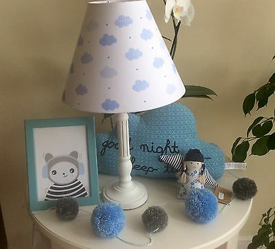 Zara home lamp and free accessories new kids baby room