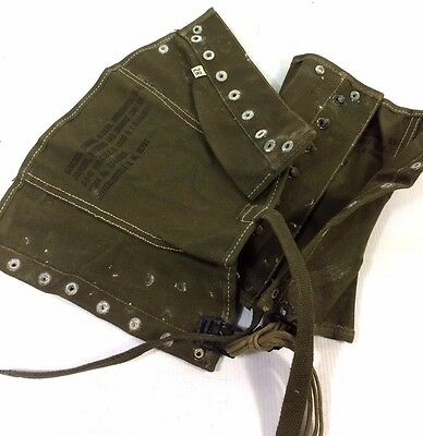 WW2 Leggings, Olive Drab Dismounted Size 2R 1 only