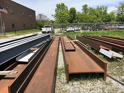 New W36x328 Structural Steel Beam 39 feet long