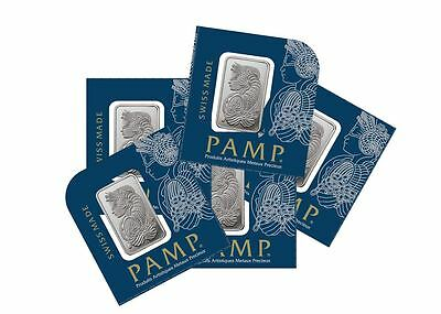 1 gram PAMP Platinum Bars (In Assay)