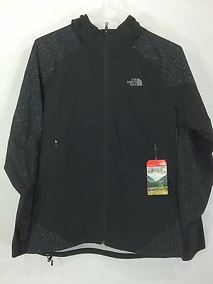 The North Face Men's Stormy Trail Reflective Jacket- Black Size M NEW with TAGS
