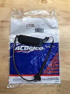 ACDelco  D1499F Liftgate Release Switch  GM OE 15106857