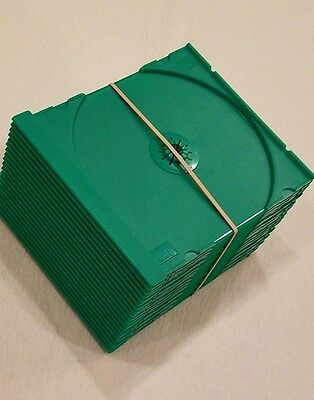 Cd Trays Green ( 20 ) Count / For Standard Jewel Case