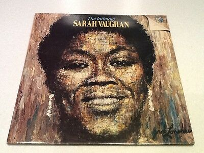 Sarah Vaughan Double Gatefold LP - The Intimate Nr Mint Roulette Records
