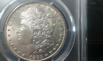 1883-CC $1 Morgan Silver Dollar MS62