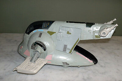100% Complete Original Palitoy 1980 Star Wars ESB Slave 1 One with Box