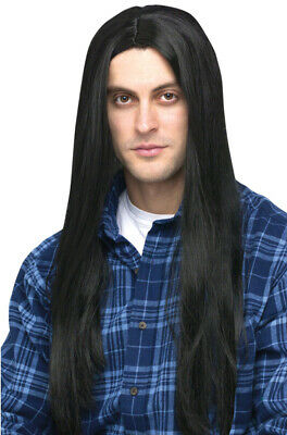 Brand New 1980s Long Hair Men's Rocker Head Banger Costume Wig