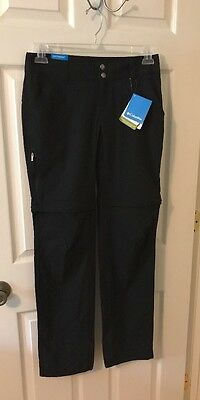 Columbia Women's Saturday Trail II Convertible Outdoor Hiking Pants Size 6 Long