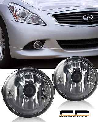 FOR 2014-2015 INFINITI QX50 CLEAR LENS REPLACEMENT FOG LIGHT HOUSING ASSEMBLY