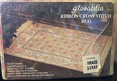 "Glorafilia Ribbon Design Rug Kit - complete kit  33"" x 53"""