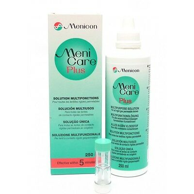 Menicare Plus Menicon Multipurpose solution hard & rgp contact lenses