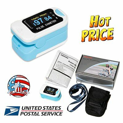 CMS50N Color OLED FingerTip Pulse Oximeter Blood Oxygen Meter SpO2 PR Monitor