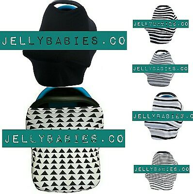Multi-Use Cover (Breastfeeding, Capsule / Carseat Cover, High Chair Cover,