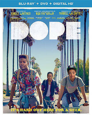 Dope (Blu-ray/DVD, 2015, 2-Disc Set) BRAND NEW!! w/ SLIPCOVER!!