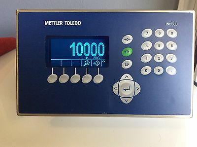 Mettler Toledo Ind560 Harsh Environment Weighing Terminal Scale Head Programable