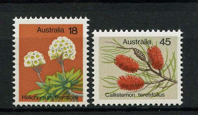 1975 Australian Decimal stamps - Wildflowers MNH - set of 2 SG608/9