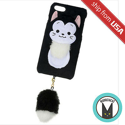 Disney store Japan Pinocchio Figaro iPhone 7 Case Paws & Claws Dangle Pom Tail