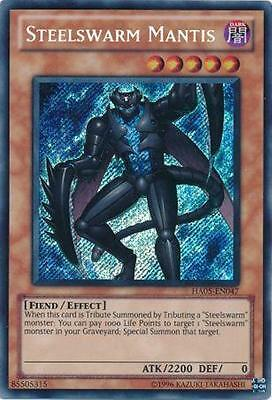 Steelswarm Mantis Yugioh Card Secret Rare HA05-EN047